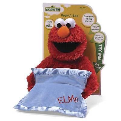 Muppets Sesame Street 2627: New Baby Gund Peek A Boo Elmo 15 -> BUY IT NOW ONLY: $39.74 on eBay!