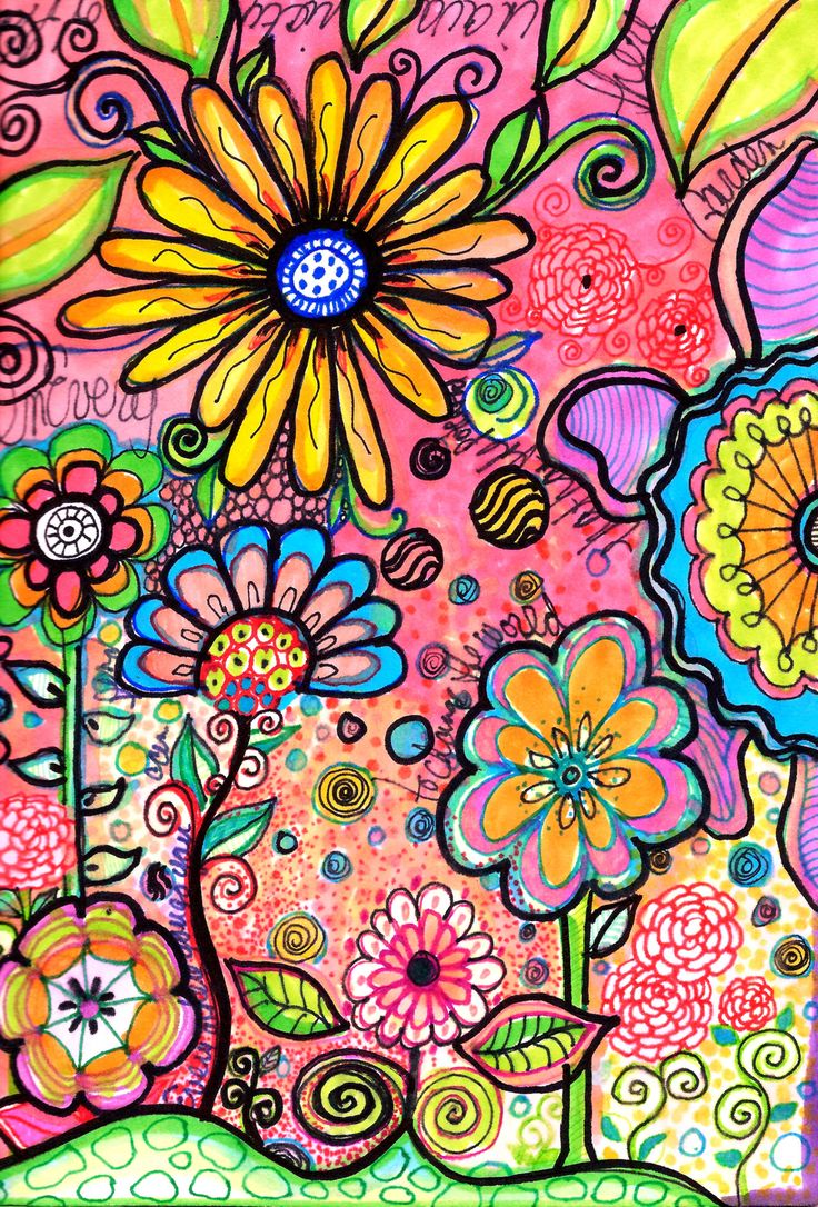 Doodled Art: Robin Mead~Art is the most intense mode of individualism that the world has known. ~Oscar Wilde