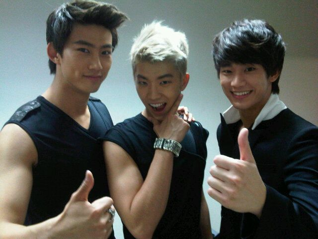 Dream High's Taecyeon/Jin Guk, Wooyoung/Jason, and Kim Soo Hyun/Sam Dong <3 <3 <3