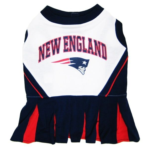 Shop where every purchase helps shelter pets! New England Patriots Cheerleader Dog Dress - from $22.95