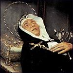 St. Veronica Guiliani incorruptible saint (1660-1727) Pray for us, especially those of us who fear death