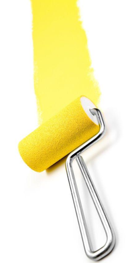 Repeindre les murs en jaune