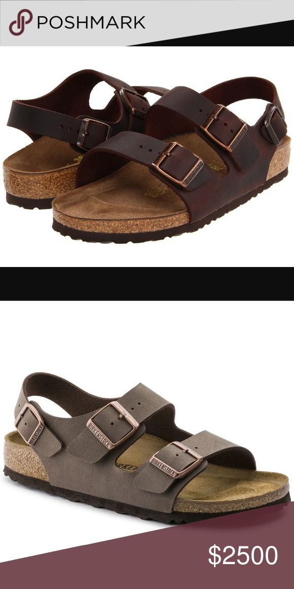 ISO: MILANO STYLE BIRKENSTOCKS * Not selling, just in search of. * Major ISO!!! These sandals are . They can be dupes/knock offs as long as they at least look SIMILAR to the real ones;) I really don't care what color either. My size is 6.5 or 7. Willing to pay up to $60+ for ones (authentic Birkenstocks) NWT/IN BOX. Please tag me of any closets that you see may have these or of course comment if you have any Thanks in advance!! Birkenstock Shoes Sandals