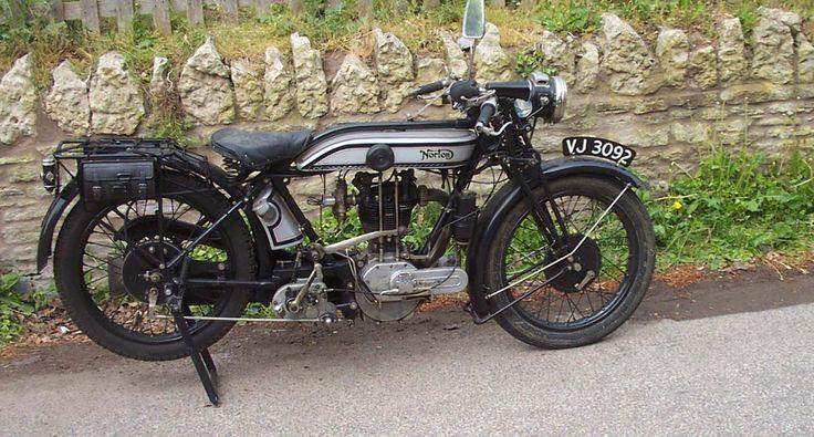 antique motorcycles for sale | 1928 Model 18 Norton - For sale