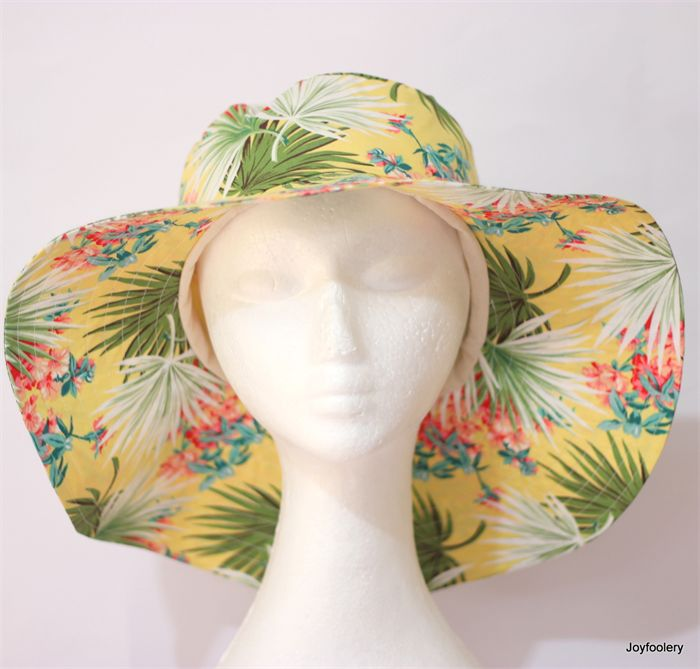 Tropical Island Ladies Sunhat 57.5cm by Joyfoolery