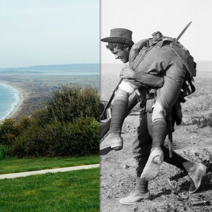 Explore these interactive photos to see how Gallipoli looked - then and now.