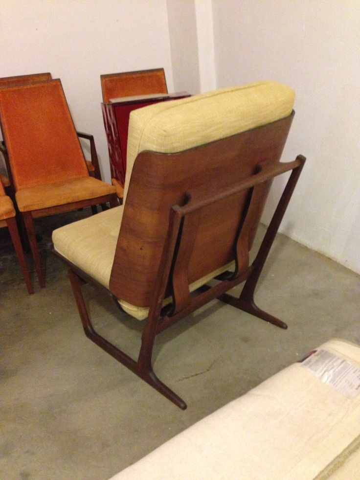 Sled Chair By Grete Jalk Grete Jalk Pinterest Mid