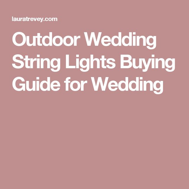 17 Best ideas about Wedding String Lights on Pinterest Party lighting, String lights and Ball ...