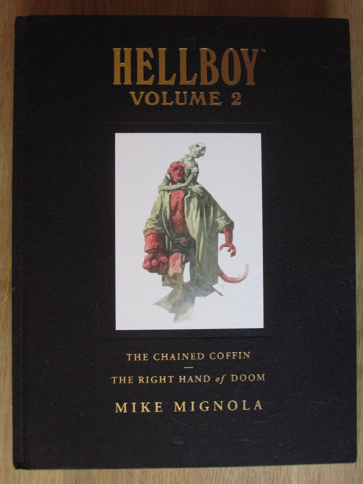 Hellboy Library Edition Vol. 2 by Mike Mignola and Various (DarkHorse Comics)