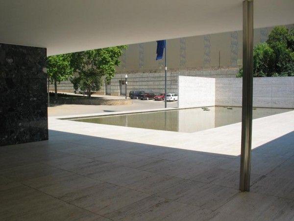 Barcelona Pavilion - mies van der rohe - Barcelona - spain