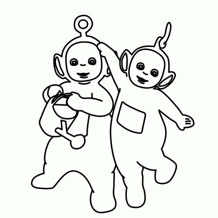 Teletubbies Coloring Pages free