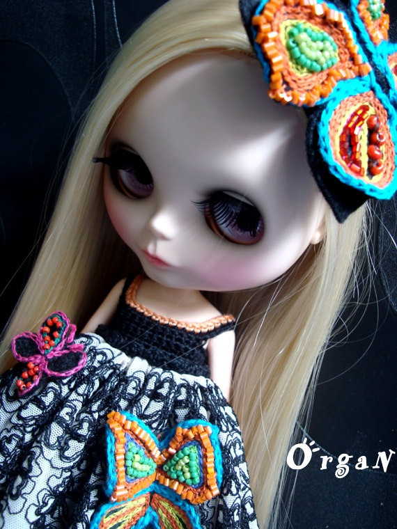 OOAK Butterfly Angleee LuxE RomancE Dress Set 3pcs by organ111, $49.00