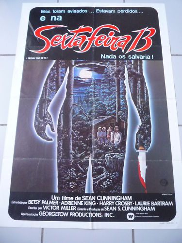 Friday the 13th the film franchise view the original brazilian friday