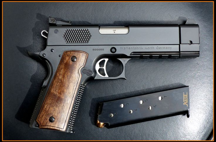 House of 1911s the korth prs is here guns 1911 for Geneseo armory craft show