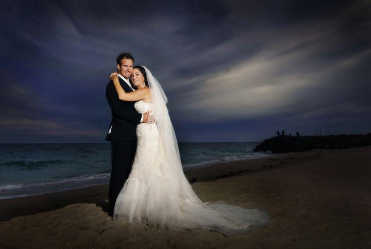 Beach wedding photos #perth #westernaustralia #beach #wedding #night #photography http://www.peteredwardsphotos.com.au