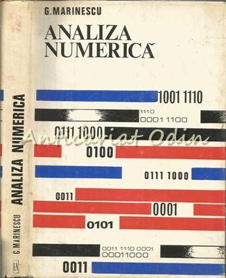 Analiza Numerica - Gh. Marinescu - Tiraj: 3090 Exemplare