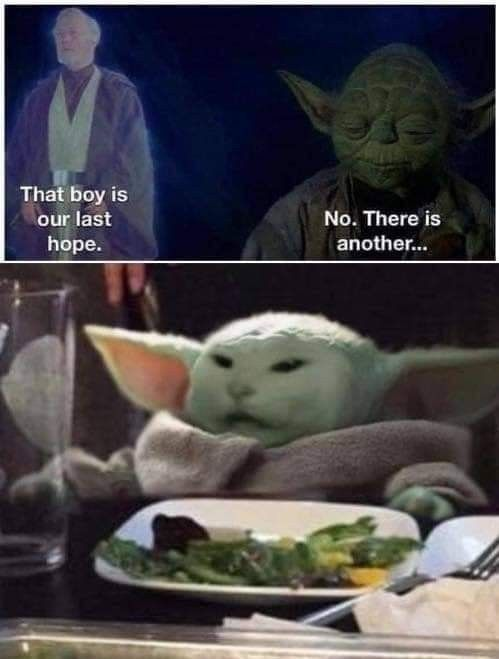 Baby Yoda Memes Star Wars Memes Yoda Meme Yoda