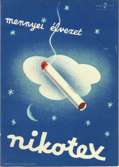 rare original vintage poster hungary 1920s tobacciana