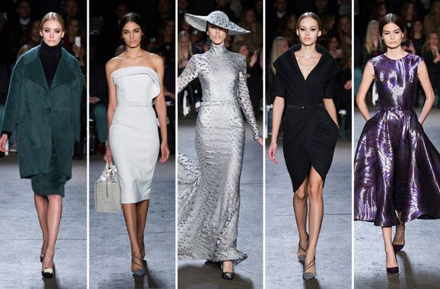 'Project Runway' Alum Christian Siriano Brings the Drama for Fall 2014