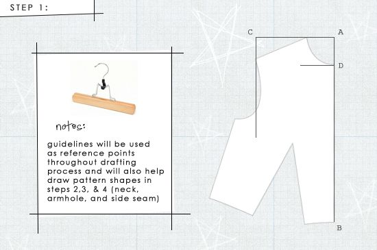 How to Draft a Front Bodice Sloper. This is, by far, the most detailed tutorial I've found. Let's hope this one turns out.