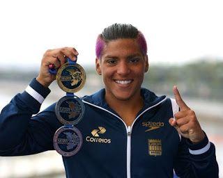Blog Esportivo do Suíço:  Ana Marcela é eleita melhor do mundo nas maratonas aquáticas pela 3ª vez