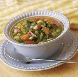 Chunky Vegetable Soup Recipe: Create Your Own - interactive online app/guide from Fine Cooking magazine