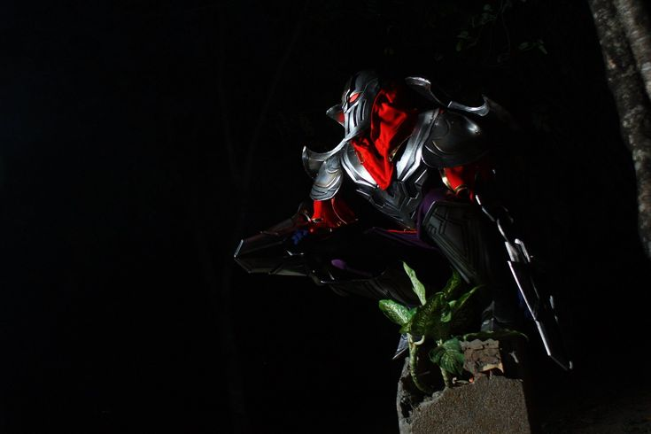 LOL - My Zed Cosplay by Darkgodmaru.deviantart.com on @deviantART