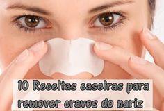 O brilho da Beleza Feminina: 10 Receitas caseiras para remover cravos do nariz