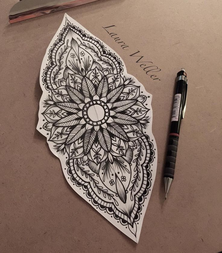 "407 Likes, 12 Comments - Laura Weller (@wellertattoos) on Instagram: ""A design hopefully my client will like for her elbow!…"""