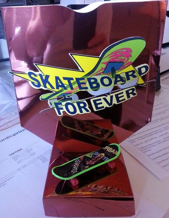 Skateboard sangskjuler