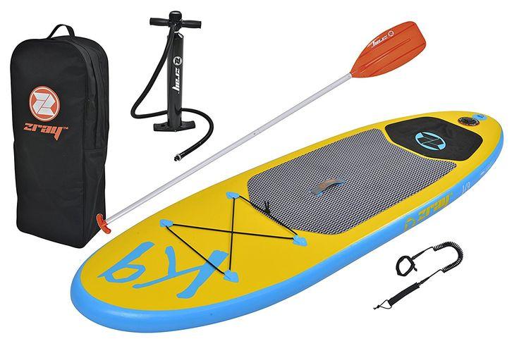 Comprar tabla de SUP. Clic en la imagen. K9 - Pack de paddlesurf con SUP hinchable (incluye bomba de alta presión, remo, bolsa de almacenamiento y correa en espiral)