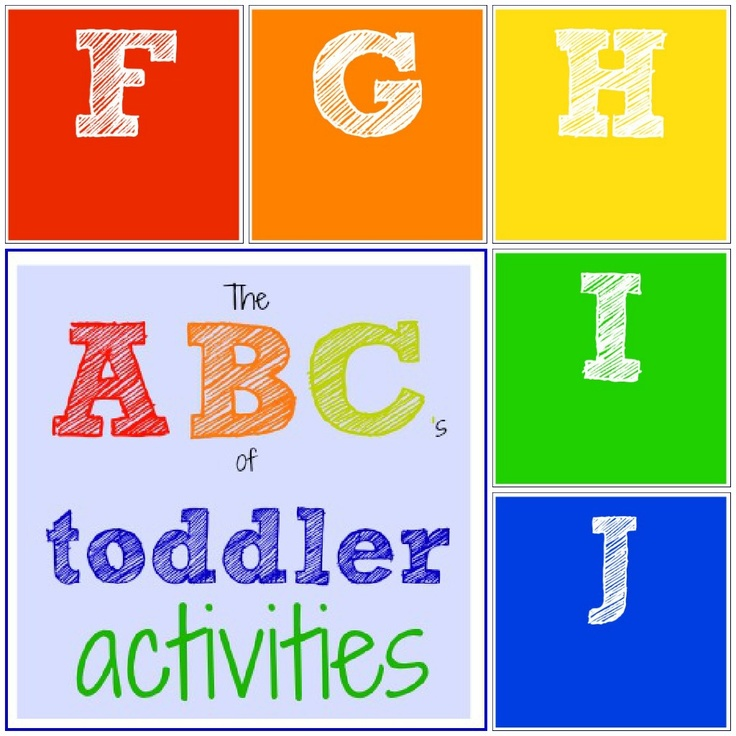 Toddler Approved!: The ABC's of Toddler Activities {F through J}