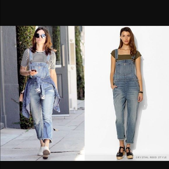 BDG • Denim Medium Wash Overalls Relaxed Fit NO TRADES!! I offer a great bundle discount! EUC BDG denim overalls. Medium blue stone wash. Baggy fit. Size 26 but fit 27-28 as well. Urban Outfitters Jeans Overalls