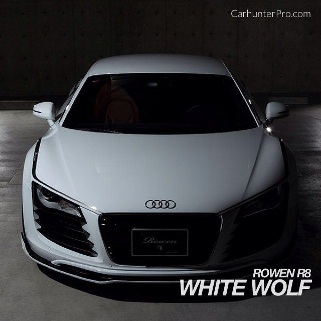 White Wolf Audi R8 - tuned by Rowen of Japan.  http://www.carhunterpro.com/photo/lLZVsyASvi