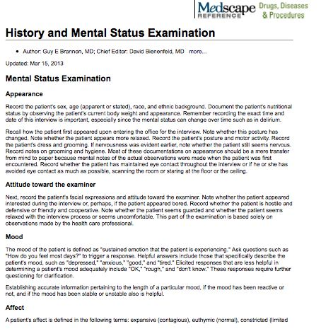 mental status exam oppositional defiant disorder Oppositional defiant disorder is a behavioral condition in which a child or  it is  one of the most commonly diagnosed mental health conditions in children  ( tips) provides comprehensive developmental and psychiatric assessment and.
