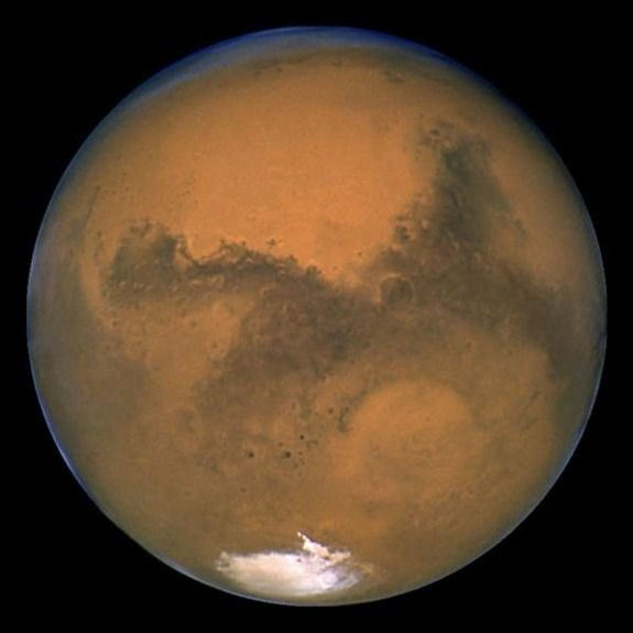 Who or what is inhabiting mars??