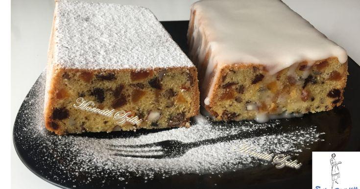 Mennyei Angol karácsonyi sütemény / Gyümölcskenyér / recept! Nagyon kedves ismerőstől kaptam a receptet, de én egy picit változtattam rajt! :-)