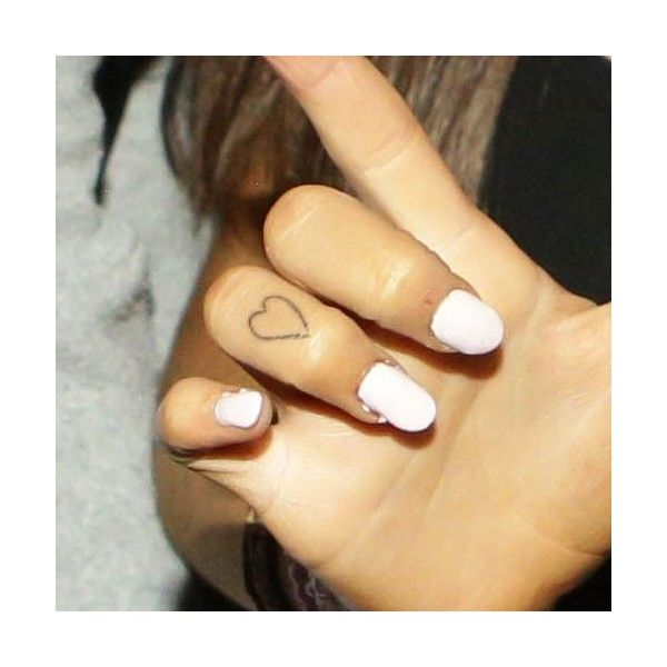 Ariana Grande's 7 Tattoos & Meanings ❤ liked on Polyvore featuring accessories