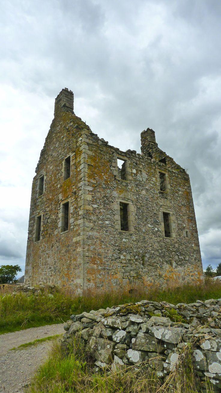 Knockhall Castle, Newburgh, Aberdeenshire, Scotland, UK