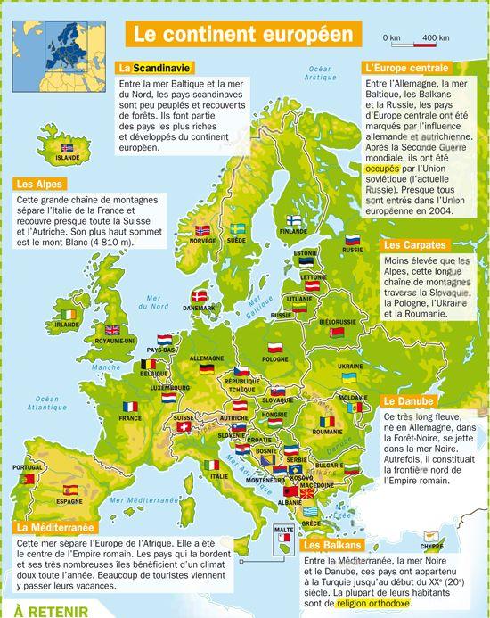 #géographie : Apprendre l'#Europe #Saloneduc