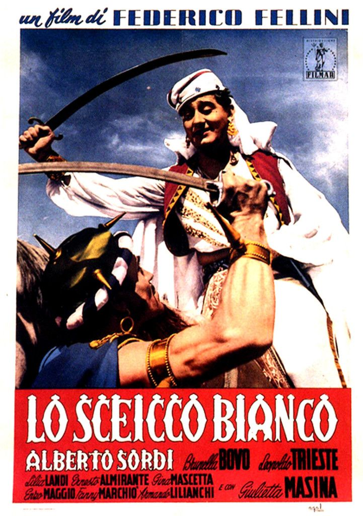 LO SCEICCO BIANCO (1952) Criterion +  _________________________ https://en.wikipedia.org/wiki/The_White_Sheik https://www.criterion.com/current/posts/266-the-white-sheik