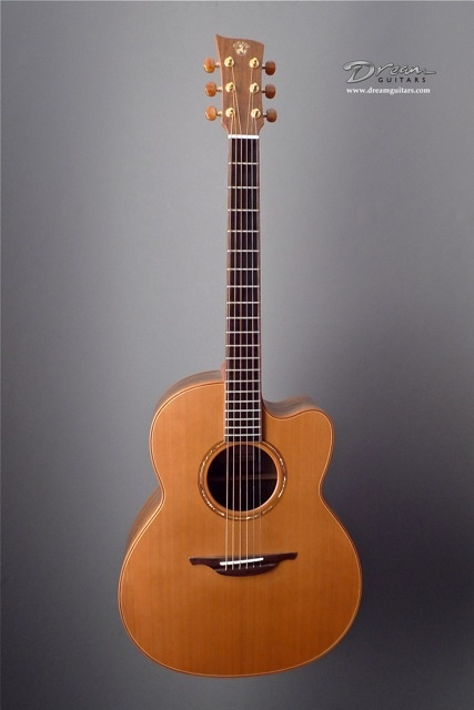 That's my McIlroy. Hand made by Dermot McIlroy out of AAAAA woods that US guitar makers don't even use. No comparison.