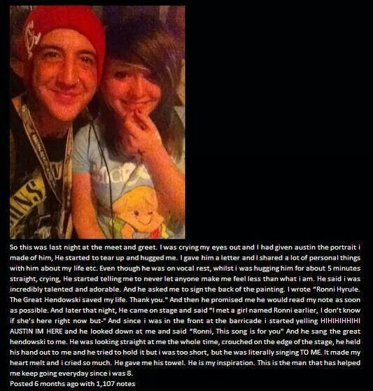 and people think that music like om&m's is demonic and that people in hardcore bands are evil!