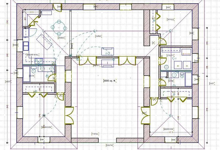House plans for Straw bale home designs