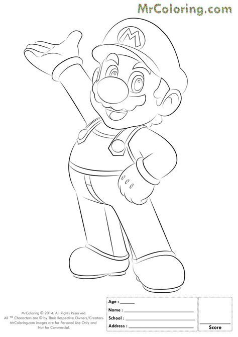 Mario Halloween Coloring Pages | Halloween coloring pages ...