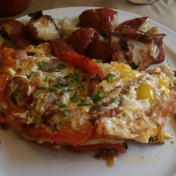 Photo of Toast - Chicago, IL, United States. Chicken sausage omelette special