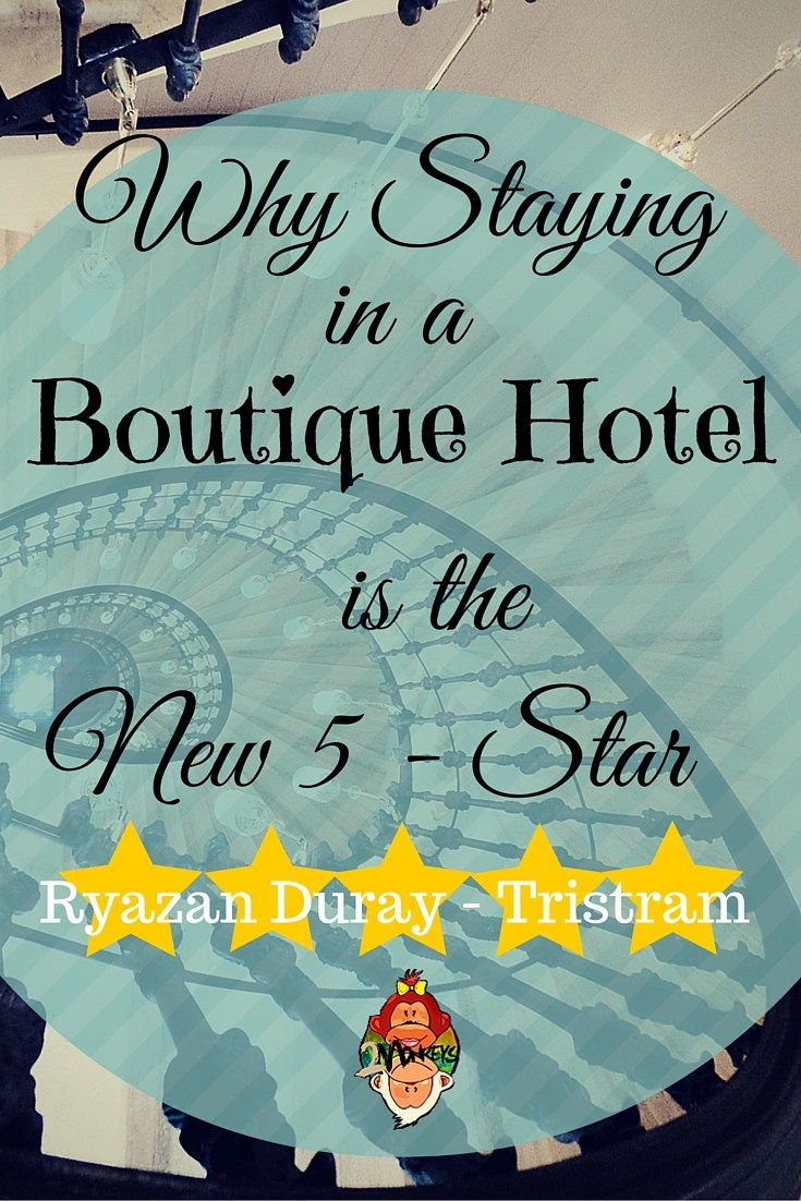 "Why You Should Stay in a #BoutiqueHotel. Boutique hotels are the coolest trend in the hospitality industry. If the hotel is labelled as a ""boutique hotel"" it is expected that your stay will have a personal touch, better service in a hotel with distinguished personality and individual vibes. #TwoMonkeysTravelGroup #LuxuryTravels"