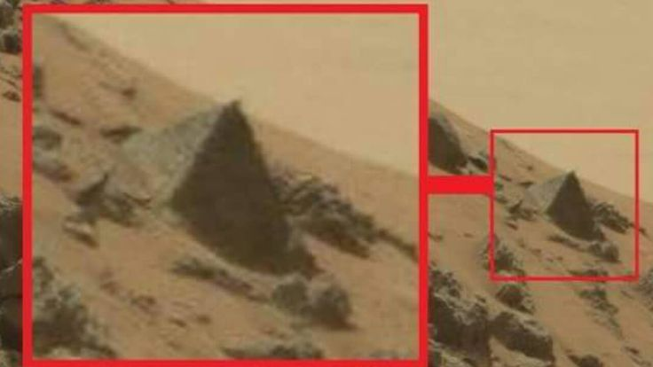 NASA's Curiosity Rover Snaps Pyramid On Mars, Is This Proof Of An Early…