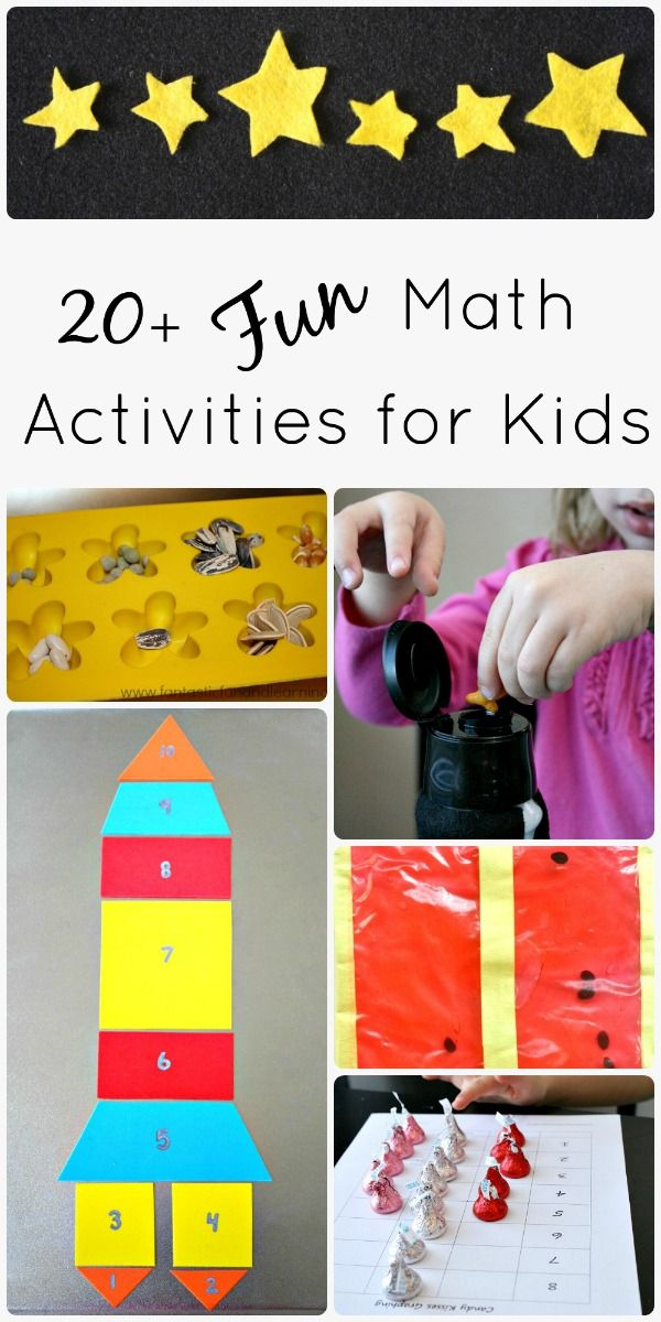 Math Activities for Kids {Discover & Explore