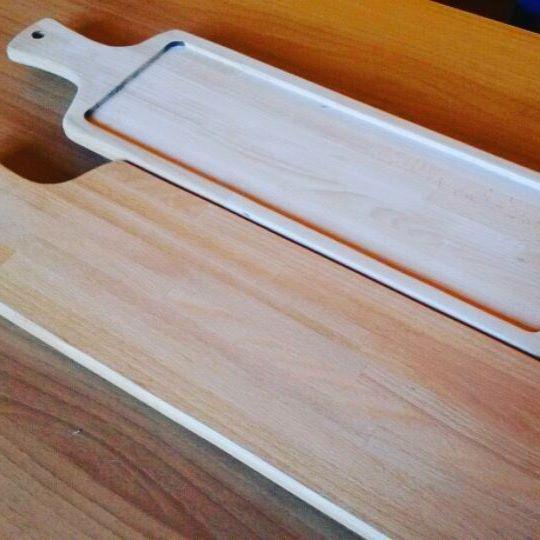 Tagliere rettangolare per servire antipasti o calzoni! #taglieri #legno #faggio #artigianato